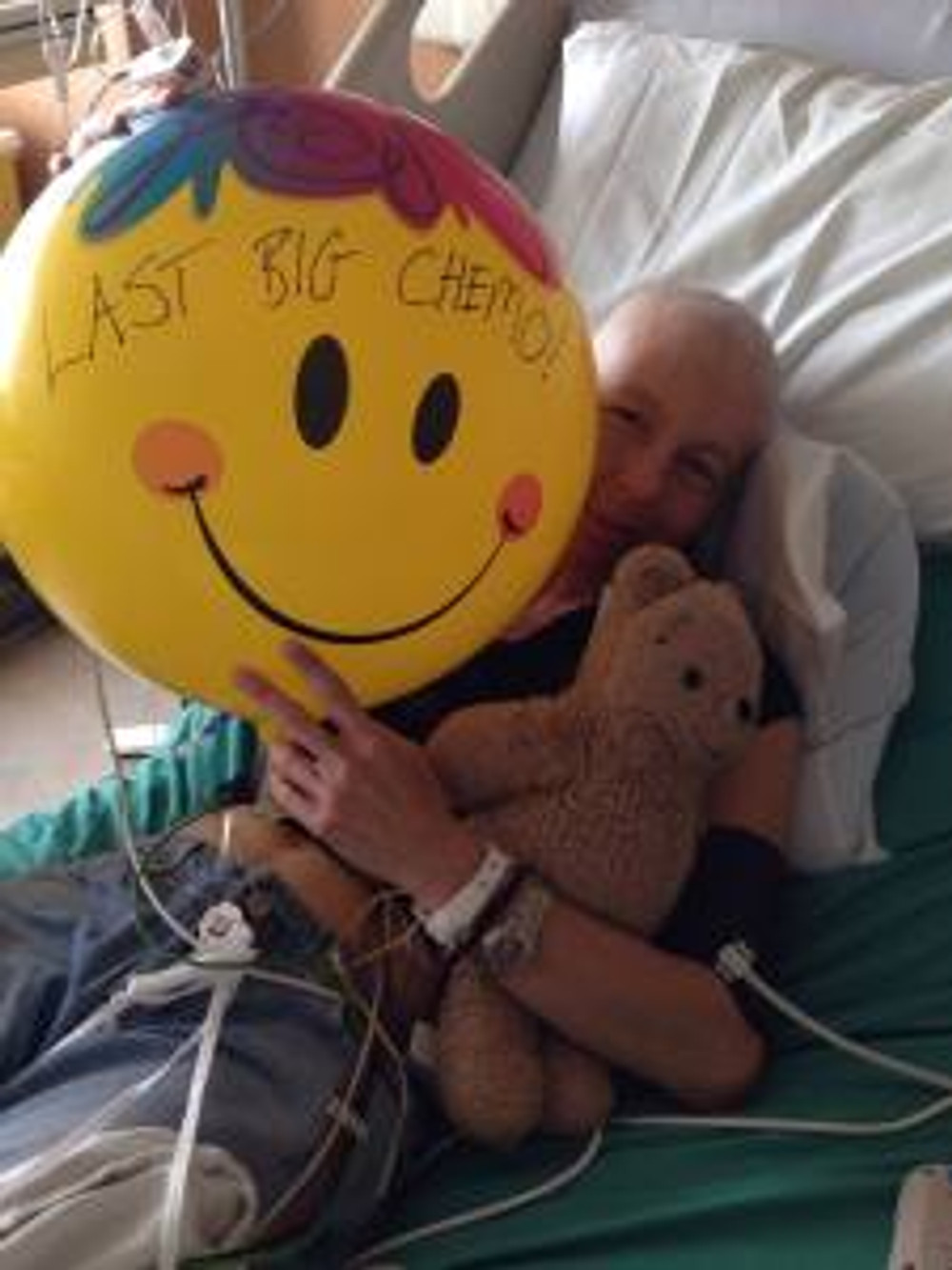 leah's last chemo