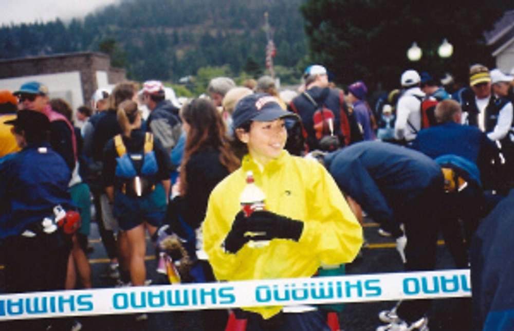 2003 - start line of the Imogene Pass run. 18 miles from Ouray to Telluride, CO.