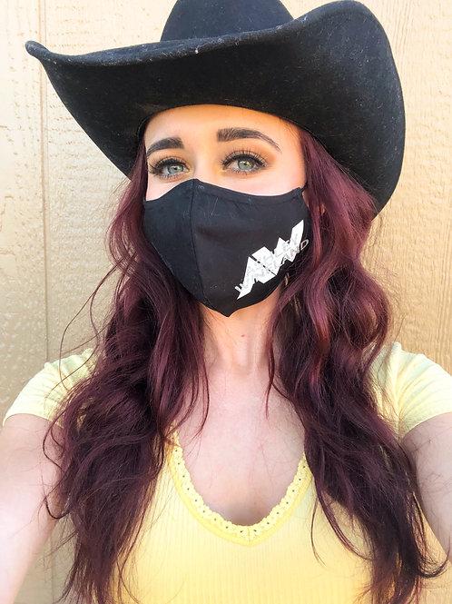 Ashley Wineland Logo Face Covering