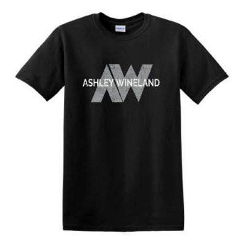 Ashley Wineland Logo Black T-Shirt