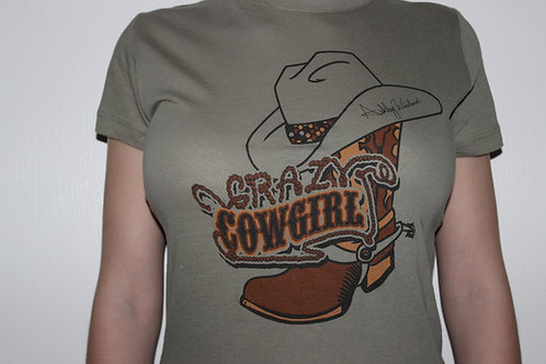 Crazy Cowgirl T-Shirts (Lady's Cut)