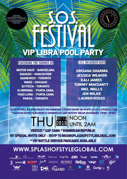 sos pool party poster