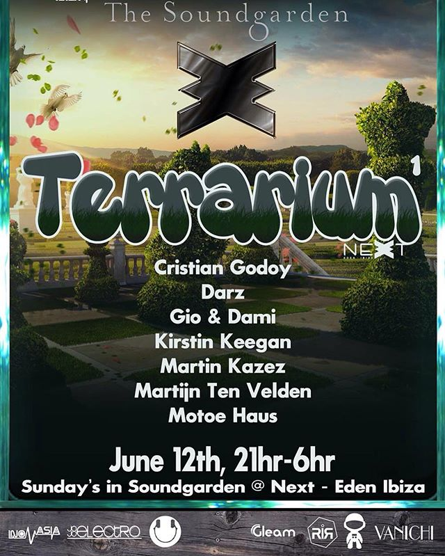 This Sunday is the #opening #party _eden