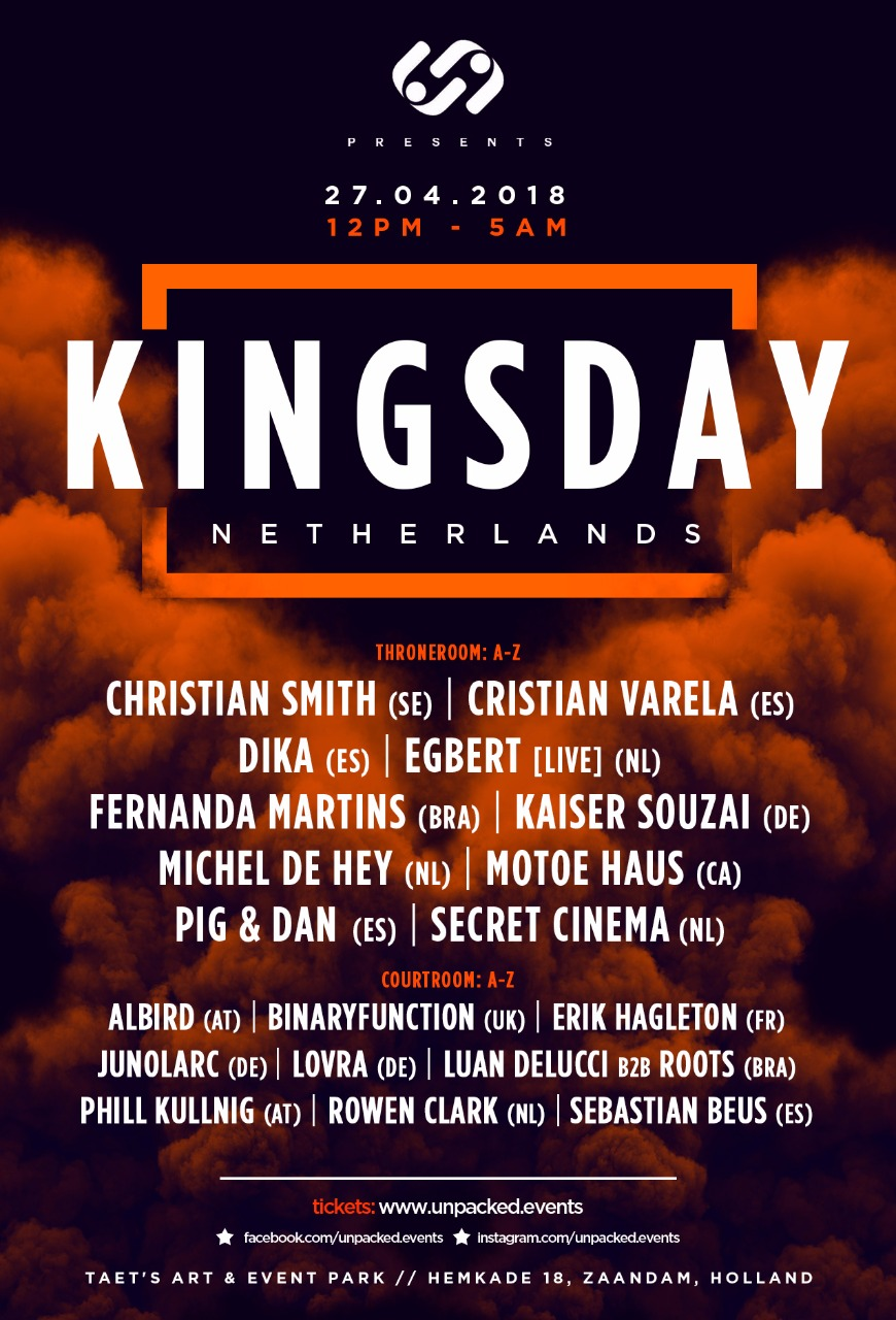 Kingsday Unpacked Poster