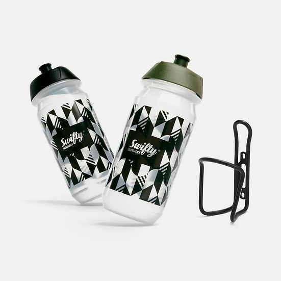 Swifty Bio Water Bottle and Cage Bundle