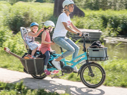 The rise and rise of cargo e-bikes