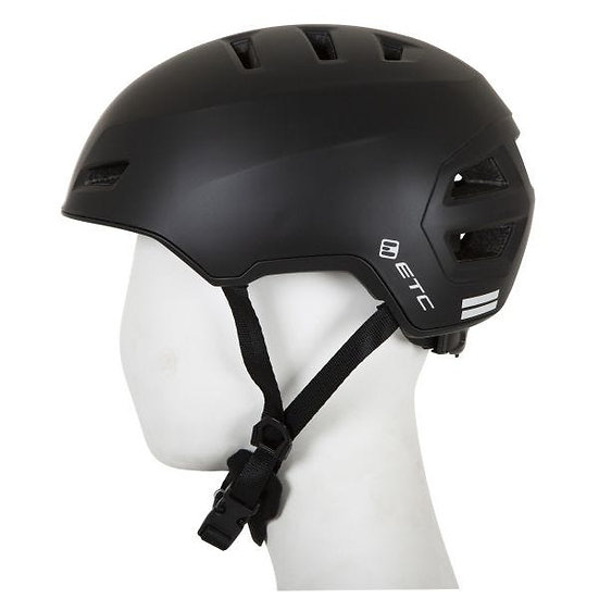 ETC C910 Adult City Helmet (Black)