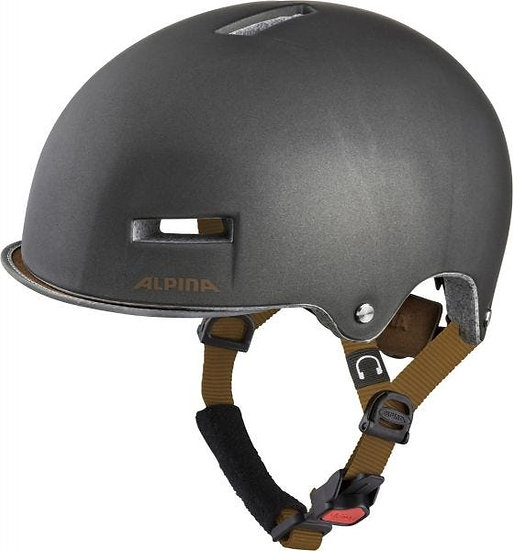 Alpina Grunerlokka Urban Helmet Sepia 52-57