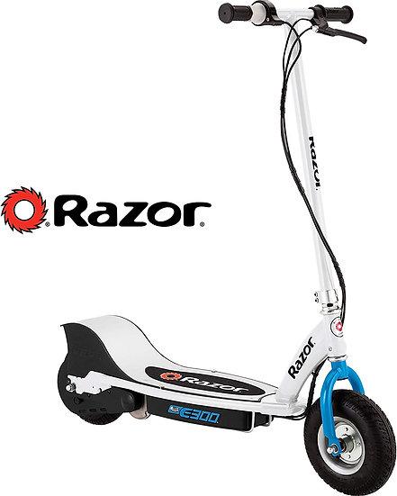 Razor E300 White & Blue