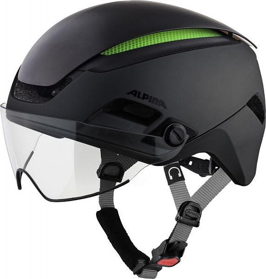 Alpina Altona Commuter Helmet Black