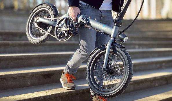 Eovolt City Folding e-bike