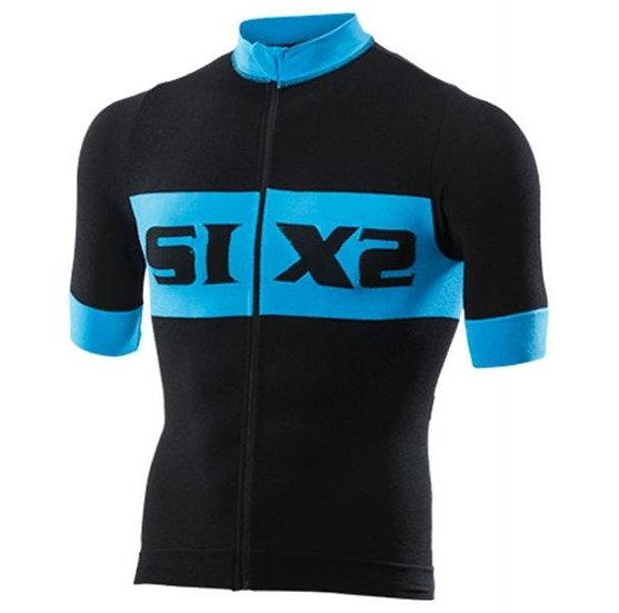 Bike 4 Luxury Short Sleeve Jersey Black/Blue