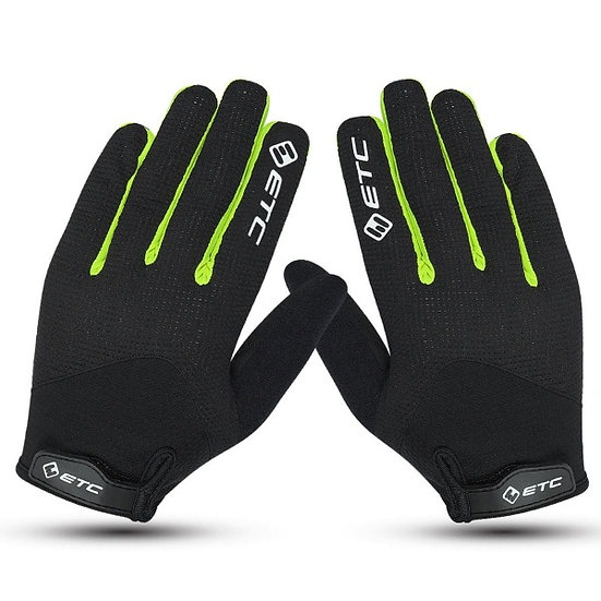 ETC Peak MTB Gloves Black Yellow