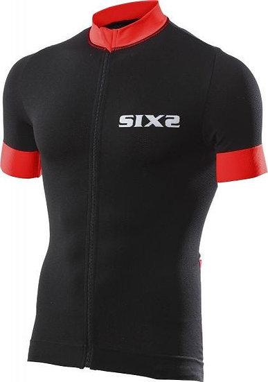 SIXS Bike 3 Short Sleeve Jersey Black/Red