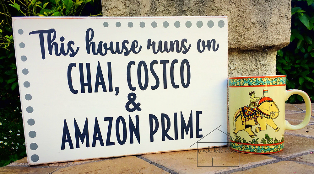 This House Runs on Chai, Costco and Amazon Prime