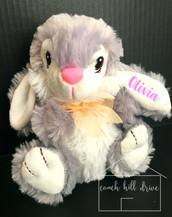 PERSONALIZED PLUSH EASTER BUNNY