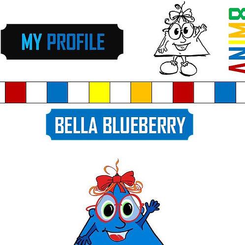 Bella Blueberry Profile & Color Me