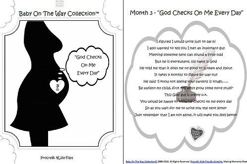 """Month 3 """"God Checks On Me"""""""