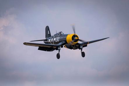 US Navy Corsair Fighter WW2