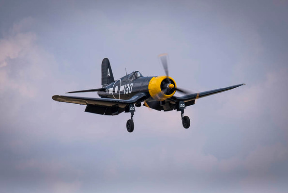 US Navy Corsair Fighter WW2