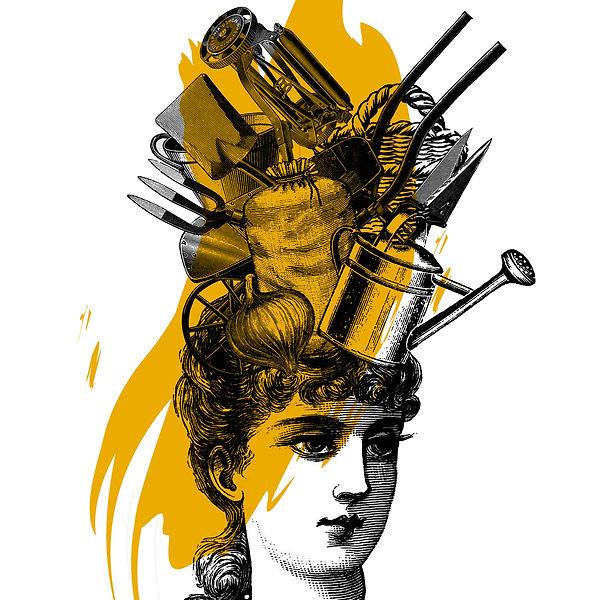 Lori Langille - Domestic Goddess, print 1