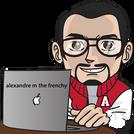 alexandre m the frenchy formateur SEO expert Wix, dans la création le réferencement Wix et community manager
