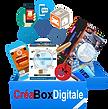 [CréaBoxDigitale, boite à outils de communication digitale pour commerçants, restaurants, coiffeurs]