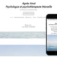 Agnès Amat Psychologue clinicienne diplômée d'Etat  psychothérapeute à Marseille 13006
