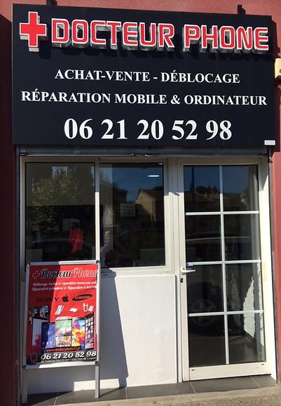 Docteur phone13, achat,vente,déblocage,réparation de tous types de mobiles, ordinateurs, Pc, consoles de jeux sur Plan de Cuques Marseille