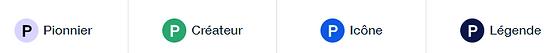 """Voici """"les différents niveaux de certification sur WIX"""" pour une agence Web Wix"""