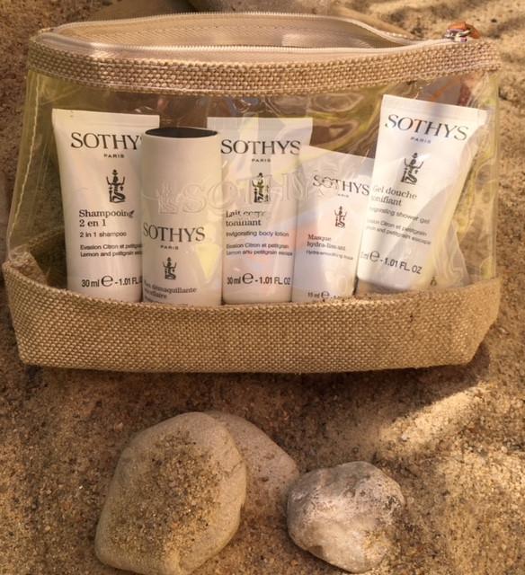 Sothys format voyage produits beauté visage