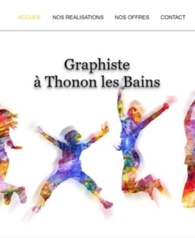 Agence acces Pub communication visuelle par Clara Burnoud Graphiste thonon les bains 74200