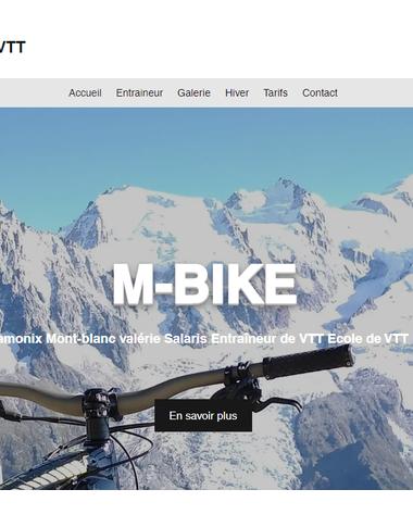 Moniteur de VTT Chamonix Mont-blanc valérie Salaris Entraîneur de VTT Ecole de VTT Haute savoie M-Bike