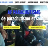 af para stage de parachutisme et saut en parachute tandem en rhônes alpes un cadeau original à chambery ou st etienne