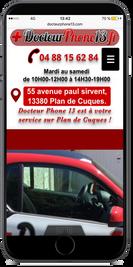 Docteur Phone 13 Ventes, achats, réparation de tel portables, création du site internet, de la version mobile, référencement web