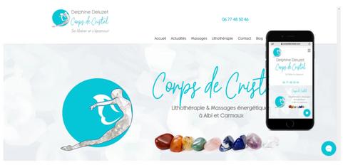 Corps de cristal  Delphine Deluzet