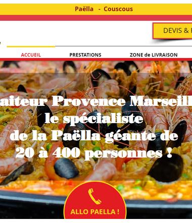 paellamarseille.com, Traiteur Provence Marseille propose service paella à domicile, choucroute, couscous, cocktail dinatoire etc, pour particuliers, entreprises à Marseille