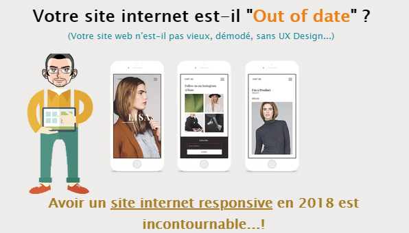"Votre site internet est il ""out of date""  ? de alexandre m the frenchyy"
