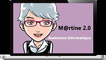 Martine 2.0 assistance et dépannage informatique à domicile ou à distance aux particuliers à Montbeliard, Hérimoncourt et alentours