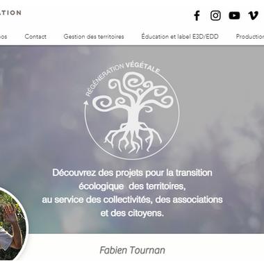 Fabien Tournan  Entrepreneur en permaculture, acteur de terrain, spécialiste en transition écologique, éducation, autonomie alimentaire et régénération des sols