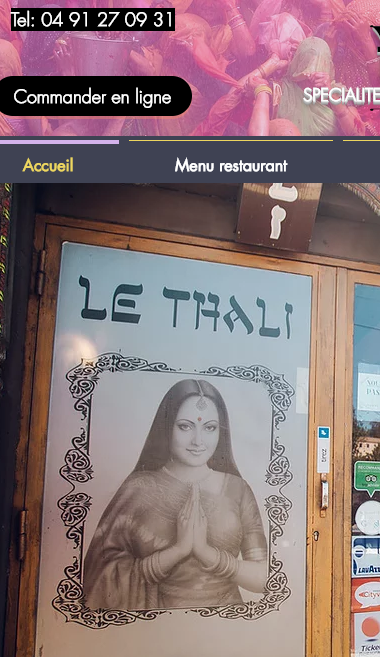 Le Thali restaurant Indien Marseille 13011