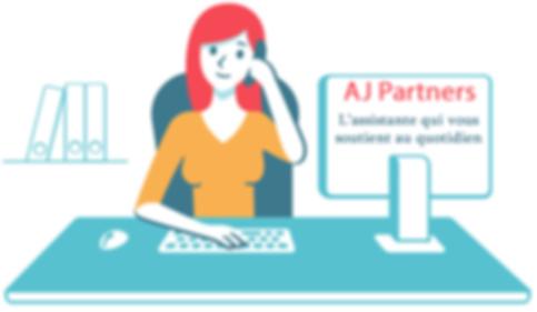 AJ Partners, l'assistante personnelle qui vous soutient au quotidien