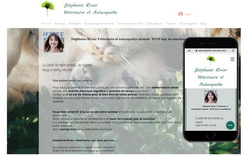 Stephanie Rivier vétérinaire et naturopathe animale issy les moulineaux 92130