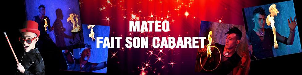 Matéo fait son cabaret avec La compagnie Lune à l'autre Spectacle enfant, spectacle de magie vaucluse