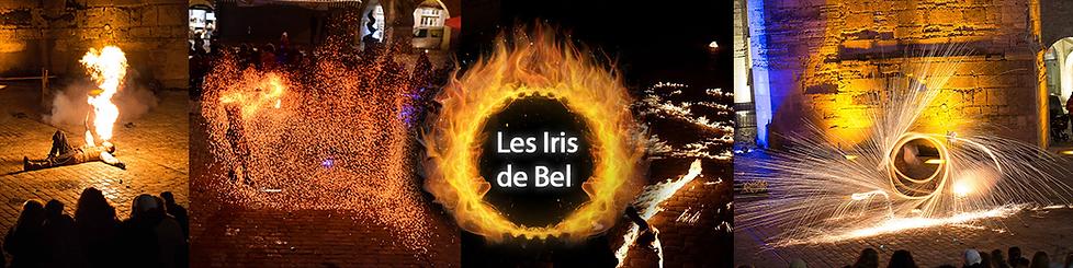 Les Iris de Belavec La compagnie Lune à l'autre spectacle visuel avec crachat de feu, jonglerie et pyrotechnieVauclusebouche du rhone