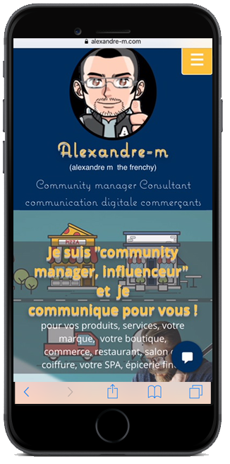 alexandre m the frenchy, community manager, influenceur