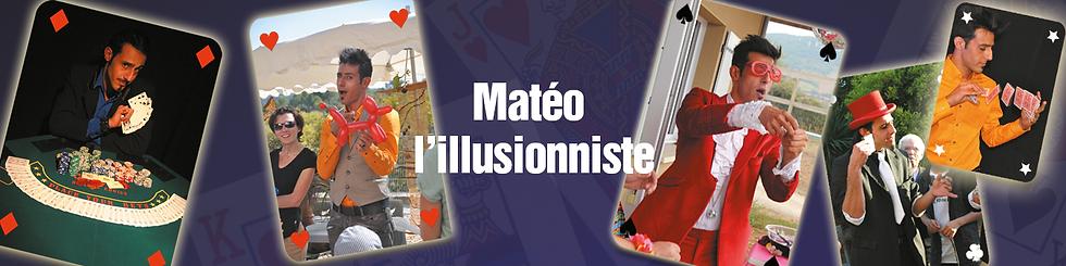 Matéo l'illusionniste avec La compagnie Lune à l'autre Spectacle illusionniste valence, spectacle de magie Vaucluse spectacle pour entreprises Drome