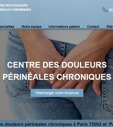 Centre des douleurs périnéales chroniques à Paris 75002 et  Paris 75011