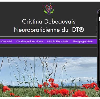 Cristina Debeauvais Neuropraticienne du  DT® formée au Détachement des Traumatismes, une technique qui agit sur le Cerveau Inconscient pour se Libérer enfin des peurs à Segny 01170 l'Ain