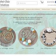 Bébé Chic refonte boutique en ligne et SEO  Création cadeaux de naissance Castres, boutique de créatrice d'articles personnalisés pour enfants.